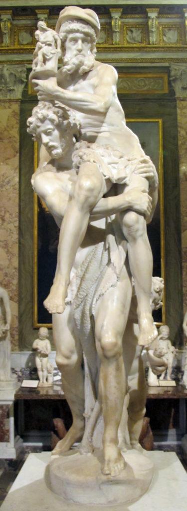 Enea, Anchise ed Ascanio - Bernini, Galleria Borghese